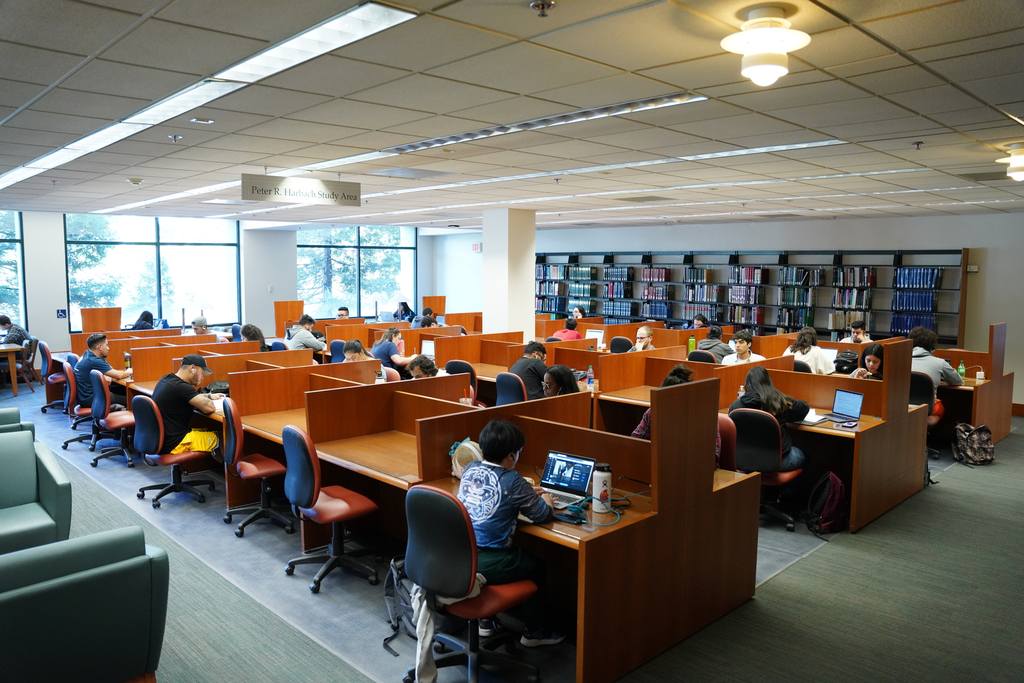 library study first floor