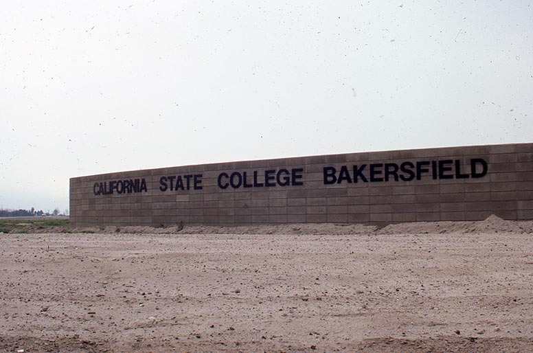 California State College sign