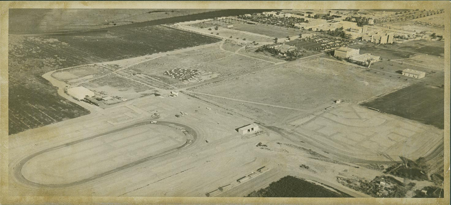 Early construction of campus