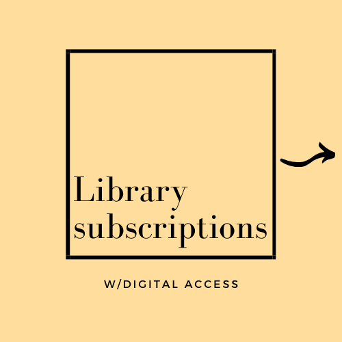 Library subscriptions with digital access