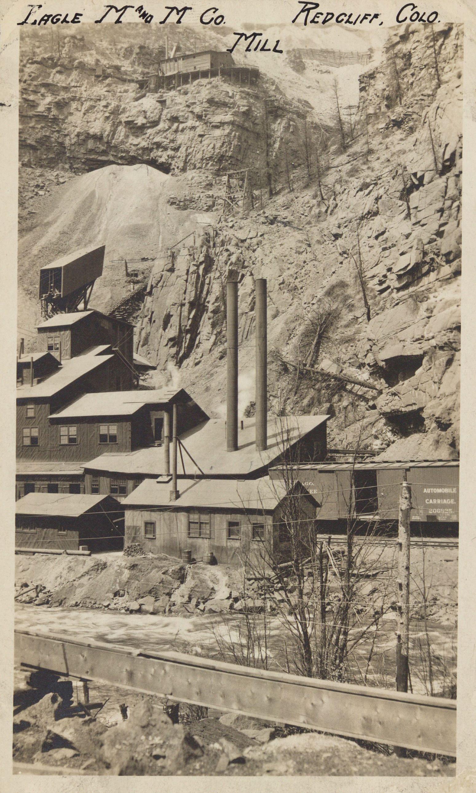 Mines, Gilman district, Colorado