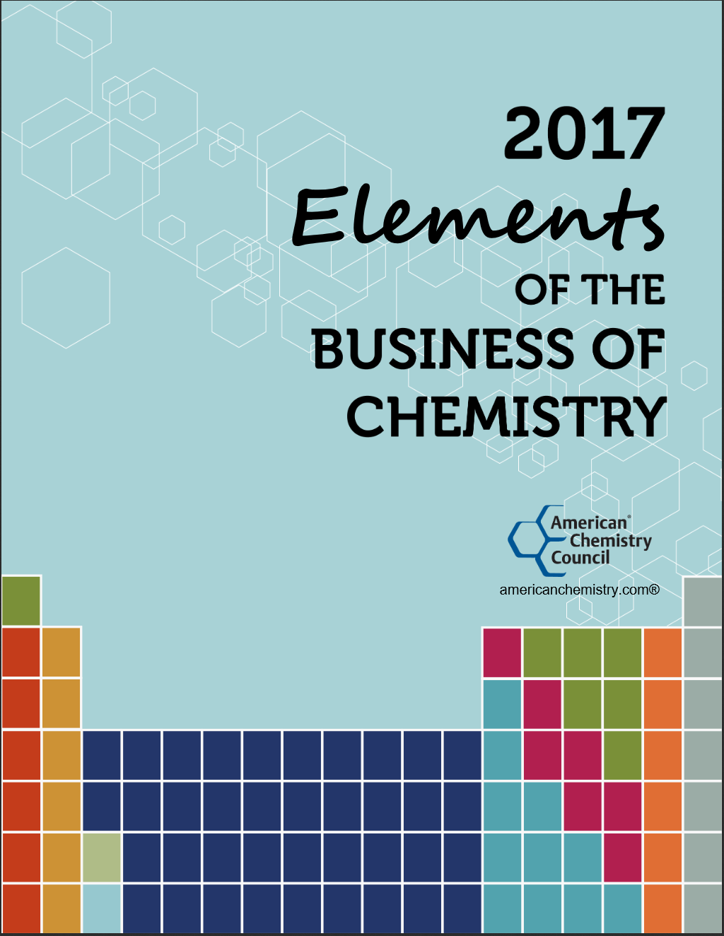 cover elements of the business of chemistry