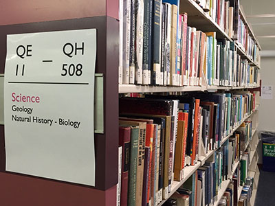 Biology Shelves