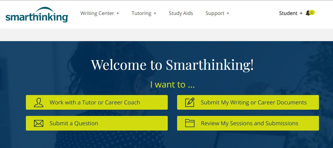Welcome to Smarthinking