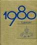 1980 Lancer Yearbook Cover Art