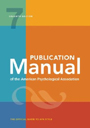 APA Publication Manual cover
