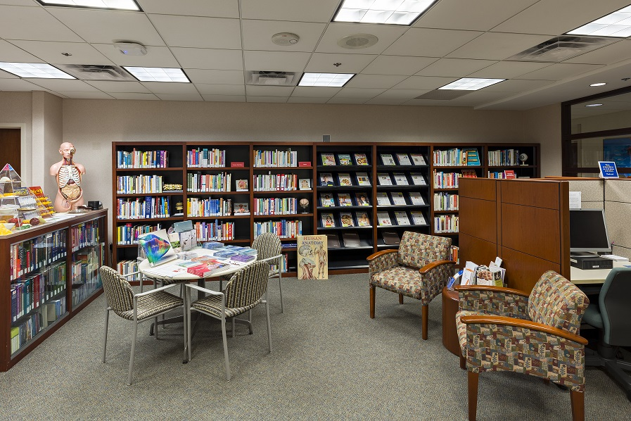 Interior of Scottsdale Patient Library
