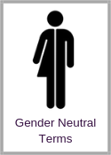 Gender Neutral Terms