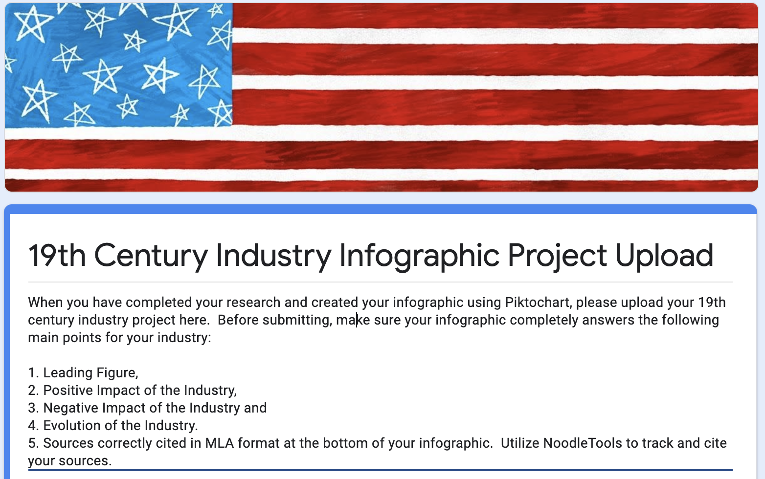 Industry Infographic Upload