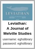 Leviathan: A Journal of Melville Studies