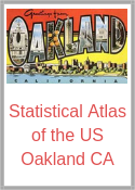 Statistial Atlas of the US - Oakland California