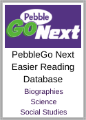 PebbleGo Next Database