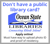 Request a FREE RI Public Library Card