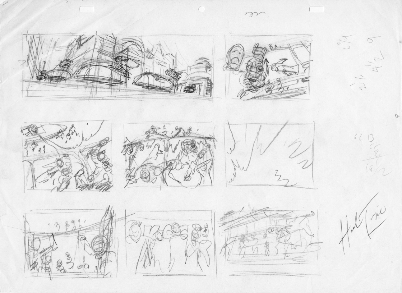 Storyboard for Hovercraft Episode