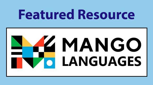 Mango Languages logo and link