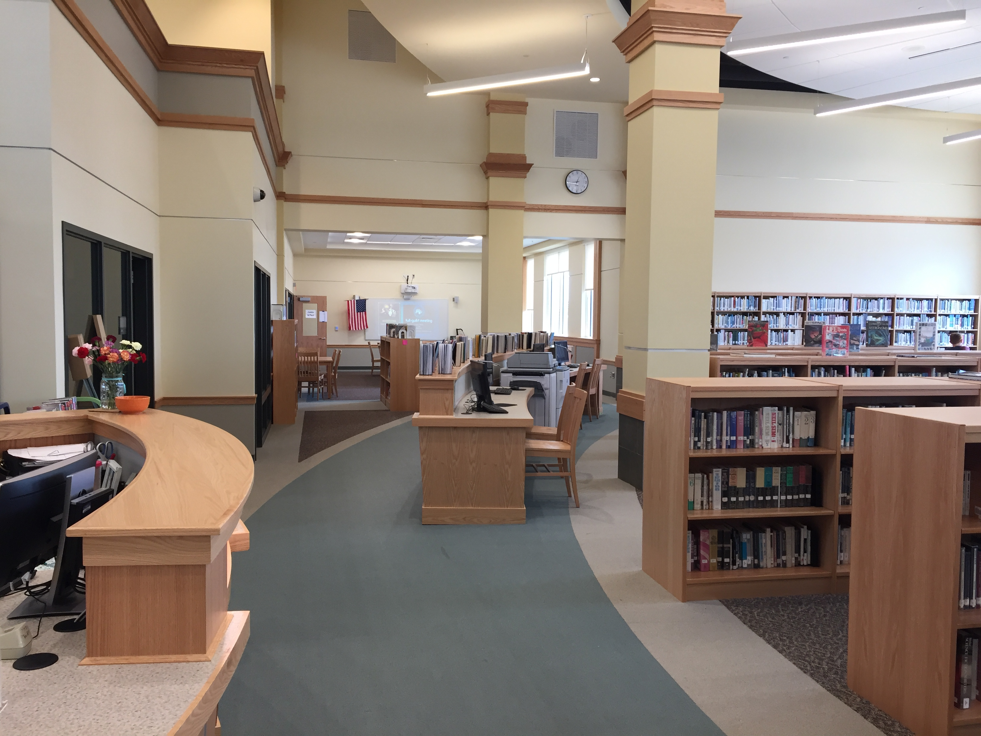Learning Commons left side