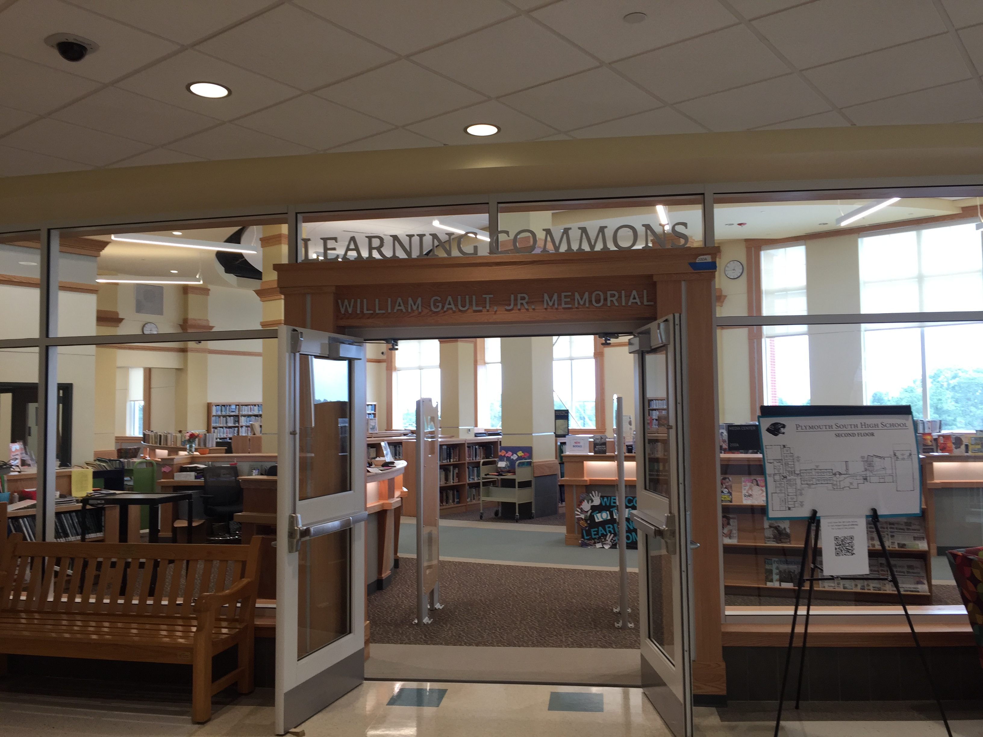 Learning Commons entrance