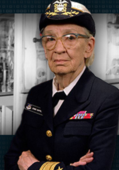 photo of ADM Grace Hopper