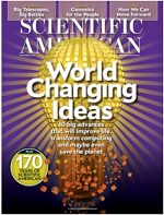 Example of general purpose/popular magazine is Scientific American