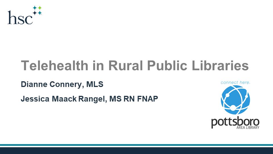 Telehealth in Rural Public Libraries
