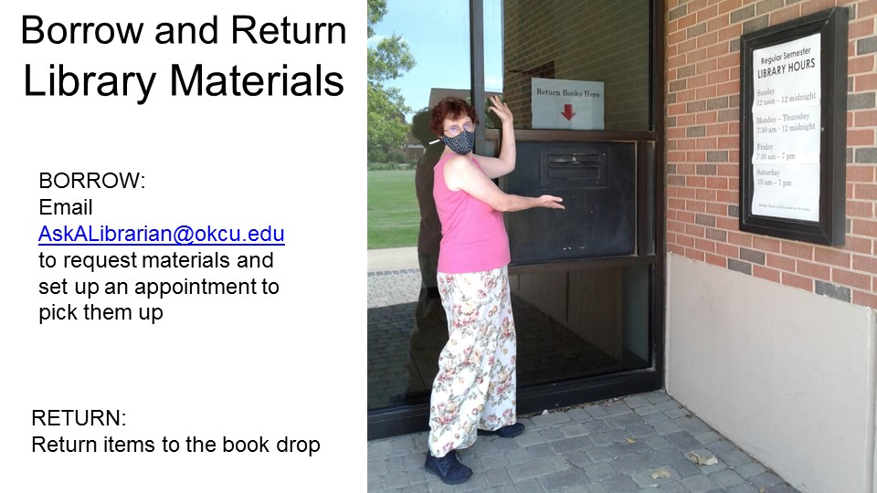 library materials available