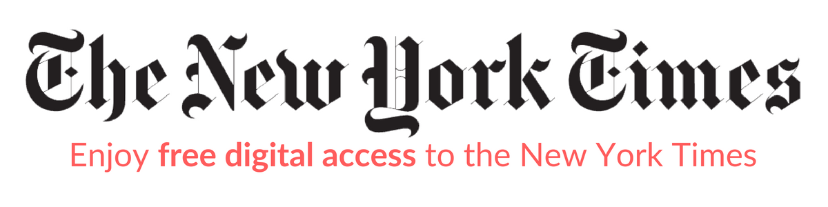The New York Times : Enjoy free digital access to the New York Times