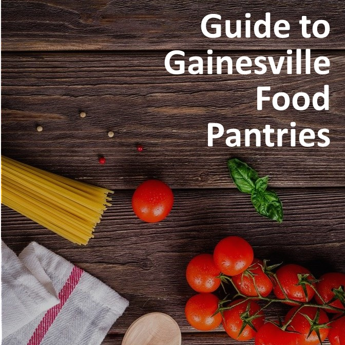 Link: Guide to Gainesville Food Pantries