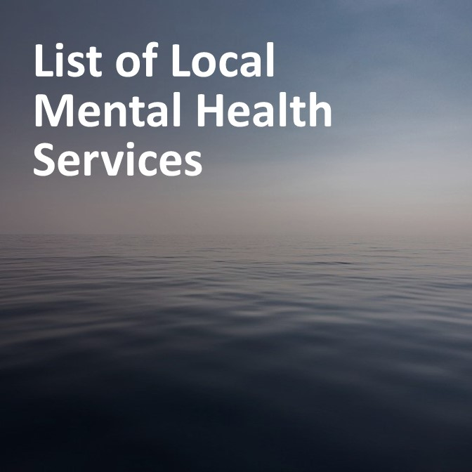 Link: List of Local Mental Health Services