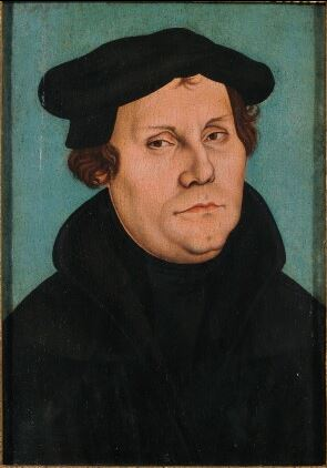 Portrait Martin Luther 1529