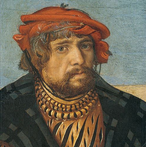 Lucas Cranach the Elder self portrait