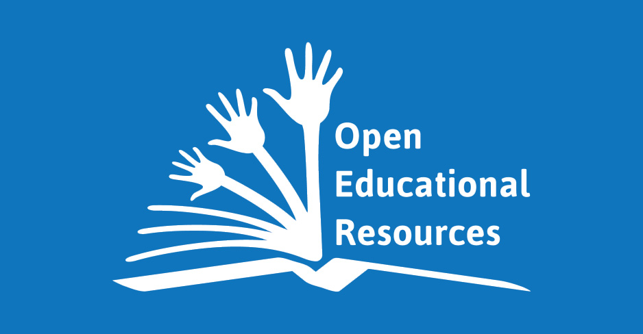 OER logo graphic of hands