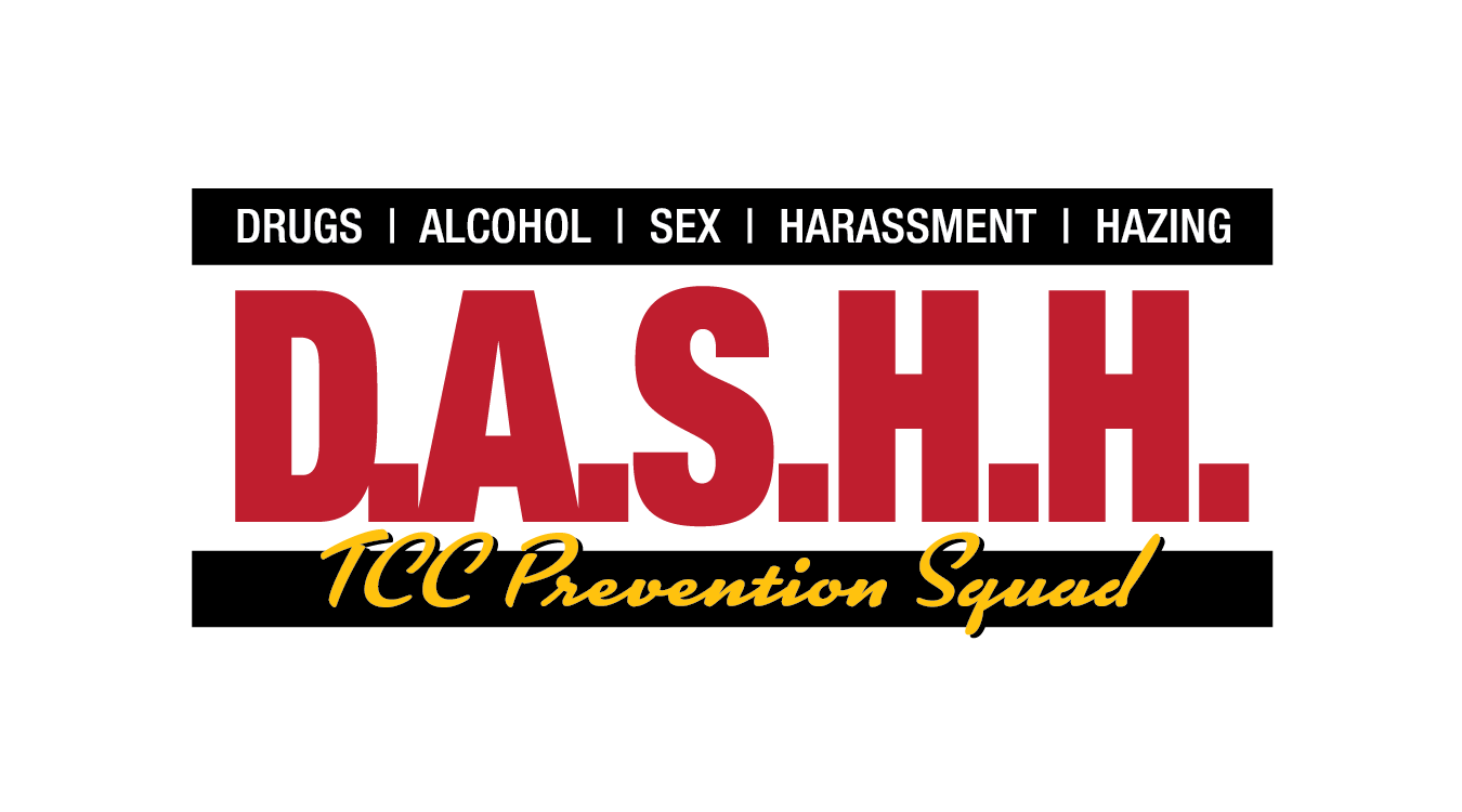 DASHH logo - Drugs, Alcohol, Sex, Harassment, Hazing Prevention Squad