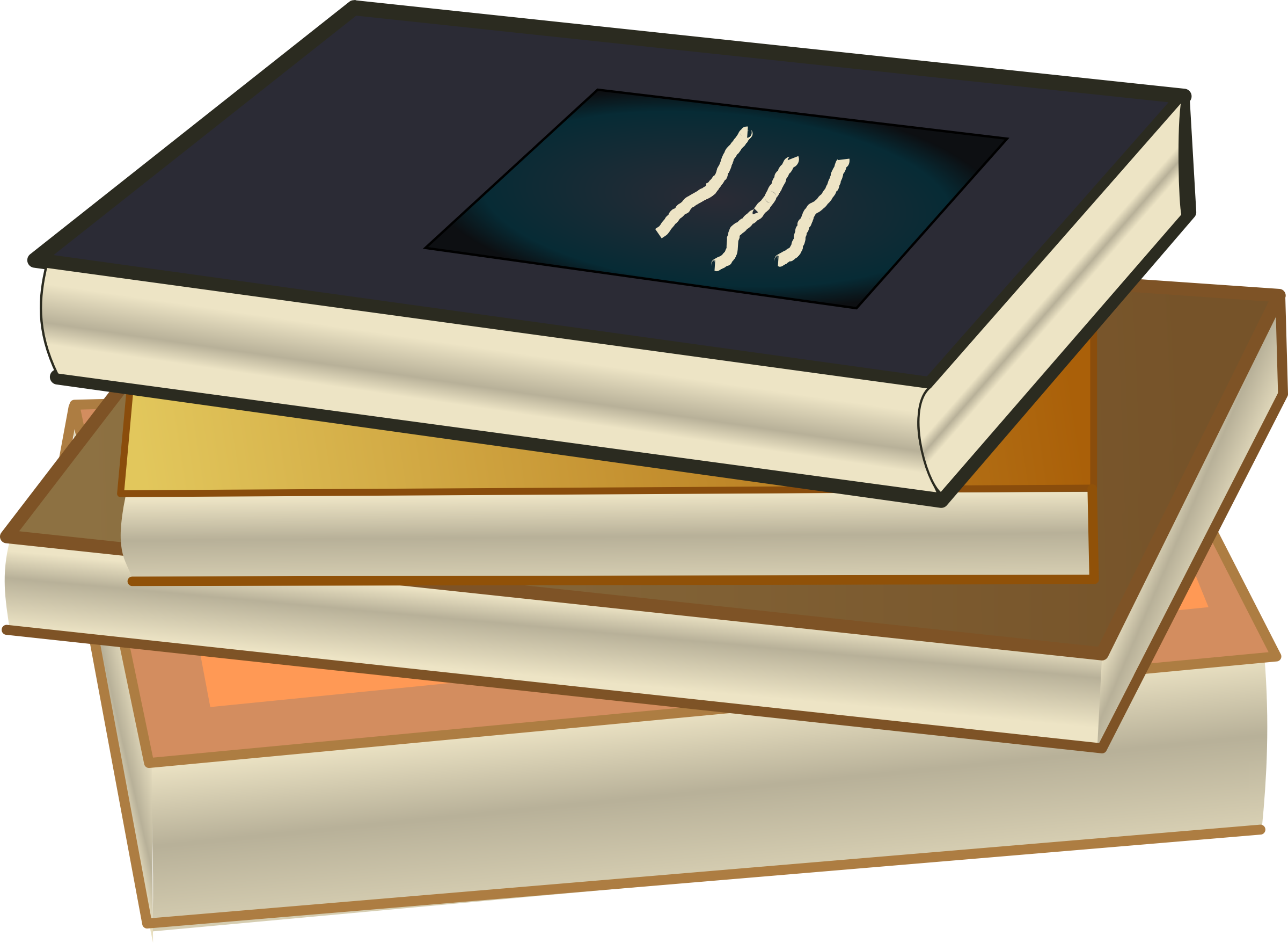small stack of books