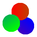 Color Enhancer logo with 3 entwined circles