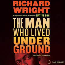 book cover image for The Man Who Lived Underground