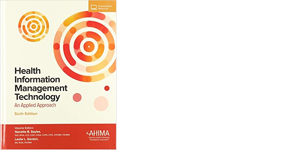 Health Information Management Technology, 6th edition