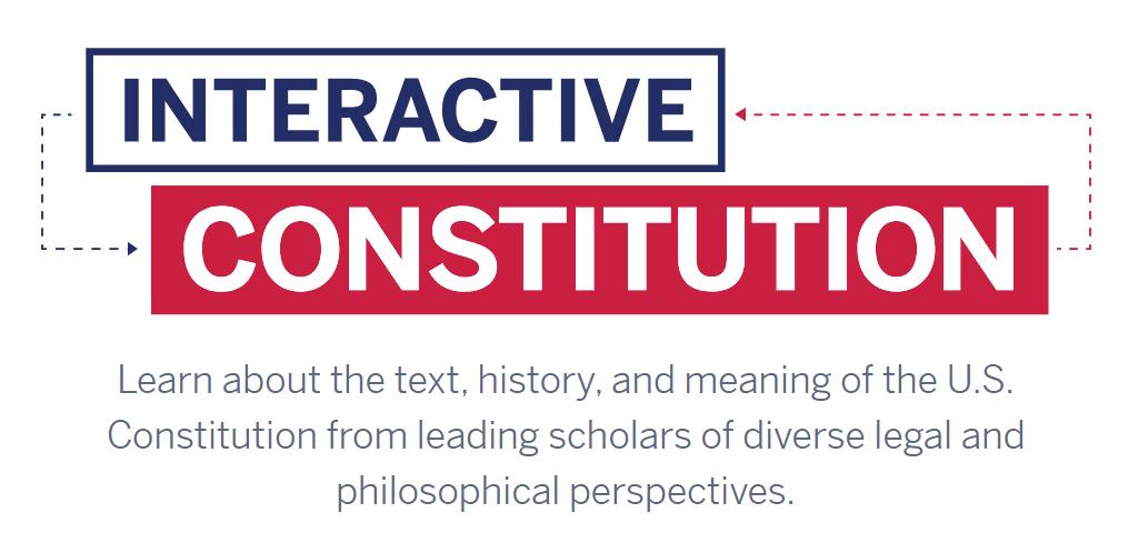 Interactive Constitution logo