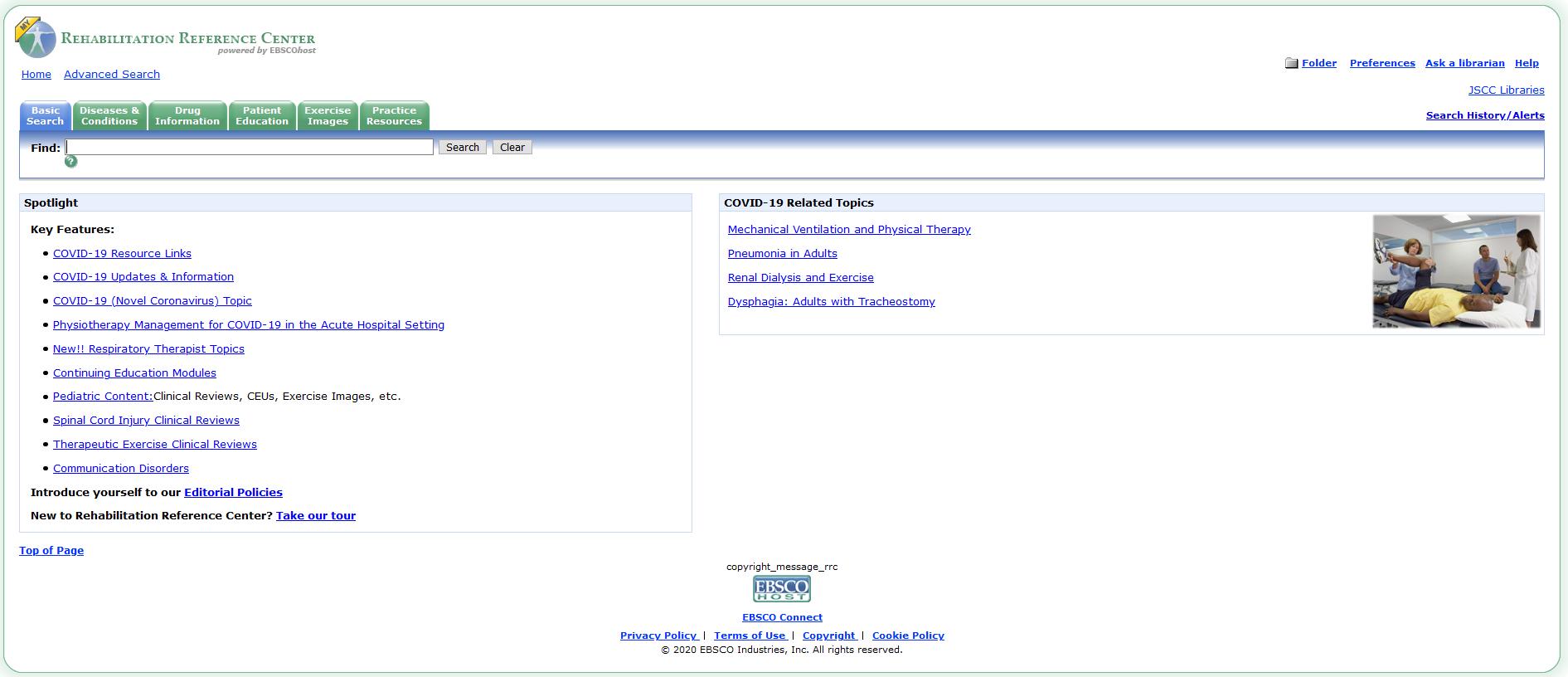RRC Home Page Image