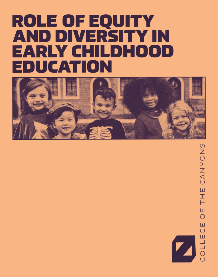 book cover role of equity and diversity in early childhood education