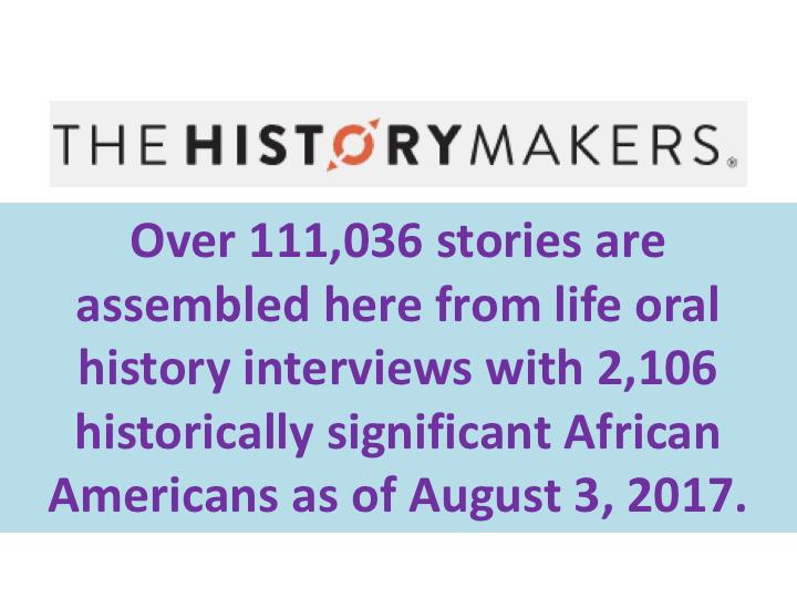 historymakers