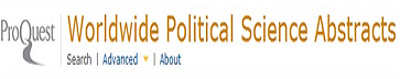 Worldwide Political Science Abstracts