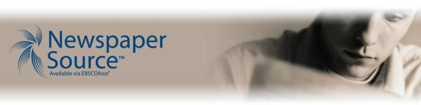 Newspaper Source Logo