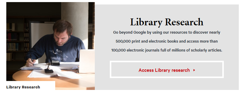 Library Research Site Image