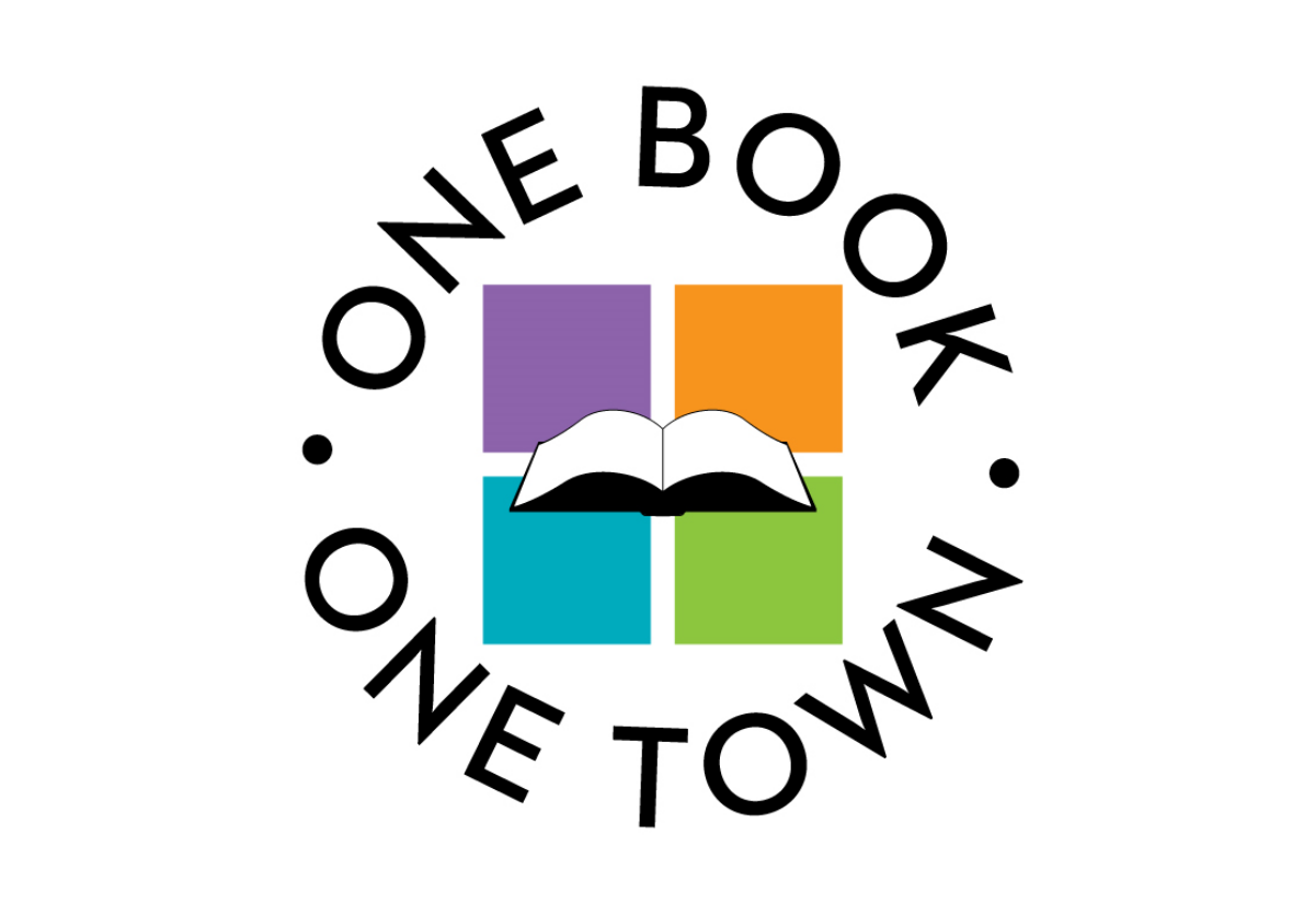 Logo for One Book One Town