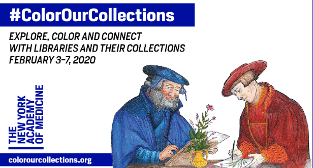 #ColorOurCollections Coloring Party
