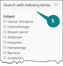 Indexing Terms