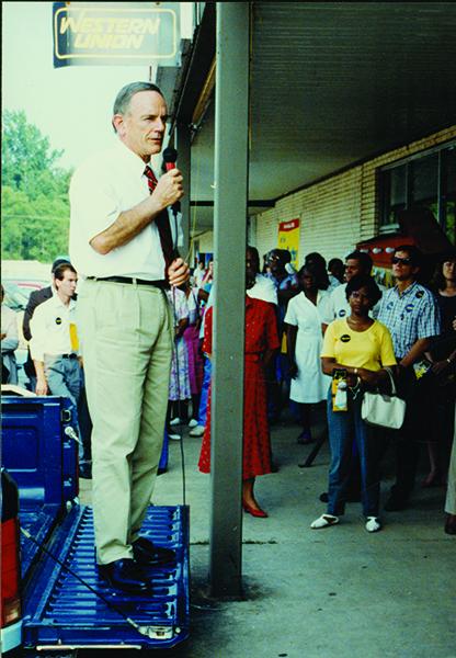 photograph of Senator J. Bennett Johnston