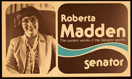 Roberta Madden campaign poster
