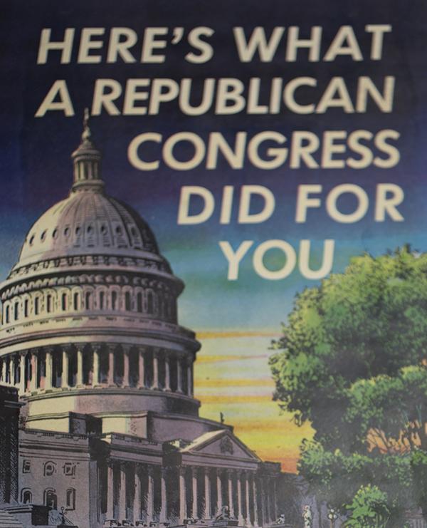 Republican booklet recapping 80th Congress