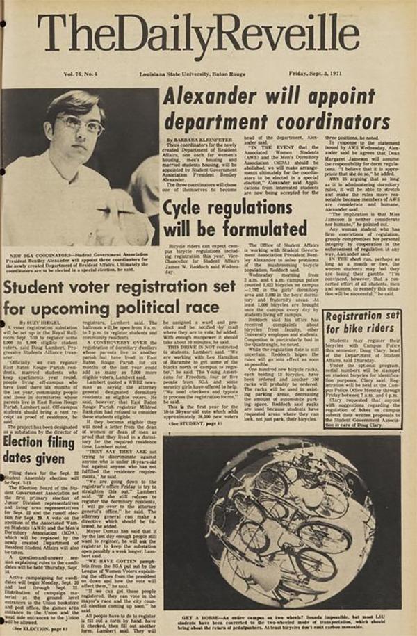 LSU Reveille newspaper